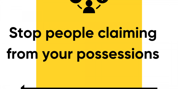 Stop People Claiming From Your Possessions After You Die By Making a Wassiyyah